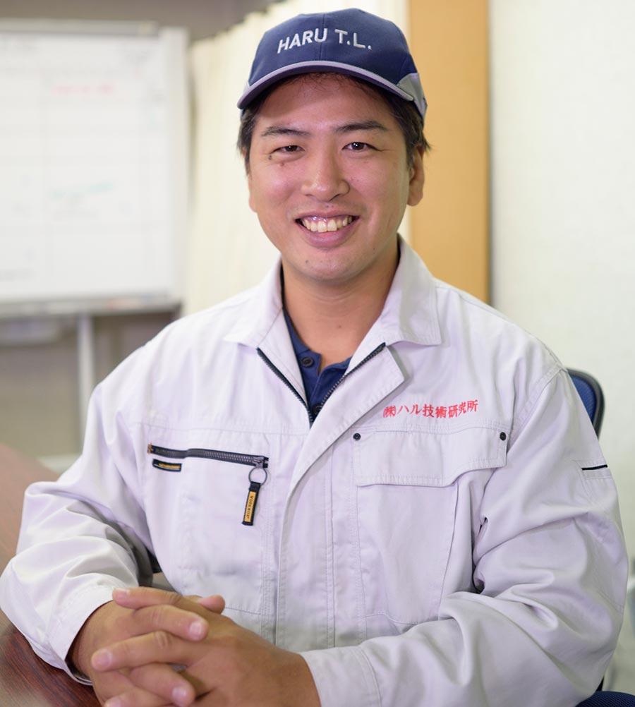 Representative Director Haruo MANDAI